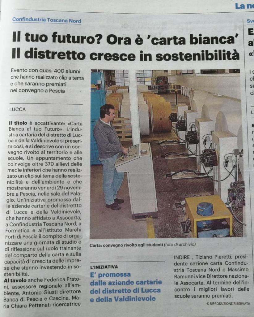 Il Futuro? Ora è carta bianca