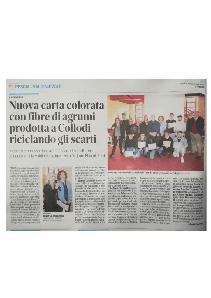 Convegno al Palagio- Premio studenti Marchi-Forti